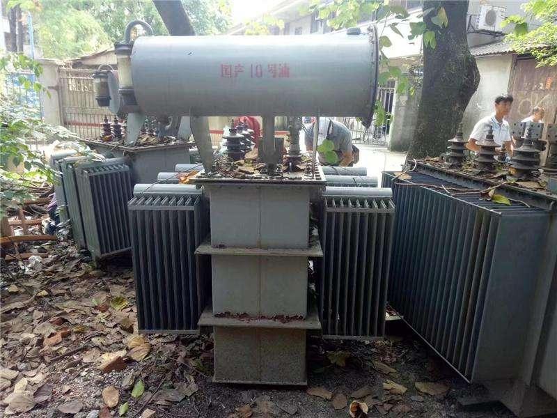 浙江瑞安地区各类大型变压器收购与评估