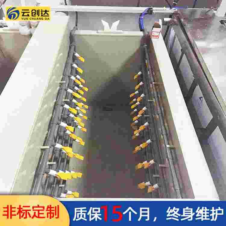 云创达新型铝板冰箱氧化西甲贝博手动客车连续处理生产线