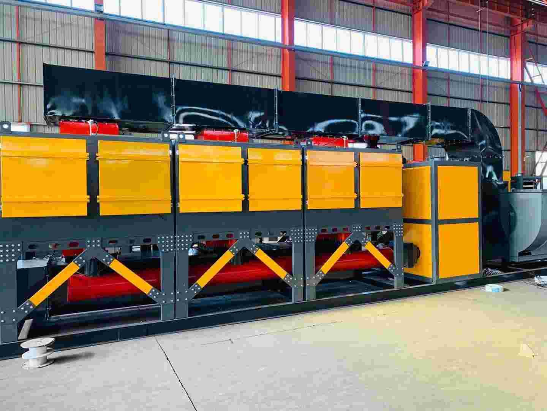 印刷厂废气治理20000风量催化燃烧西甲贝博厂家