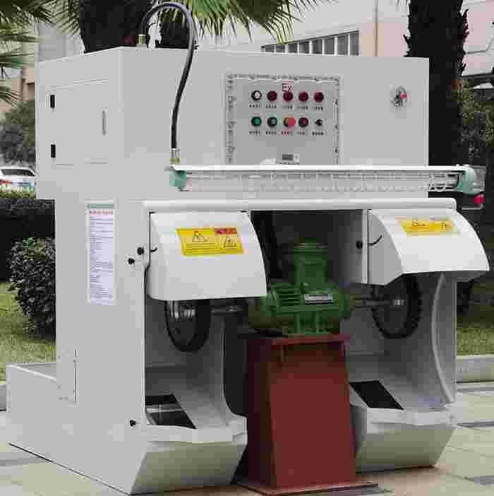 环保湿式除尘双工位抛光机CBT-BS02I