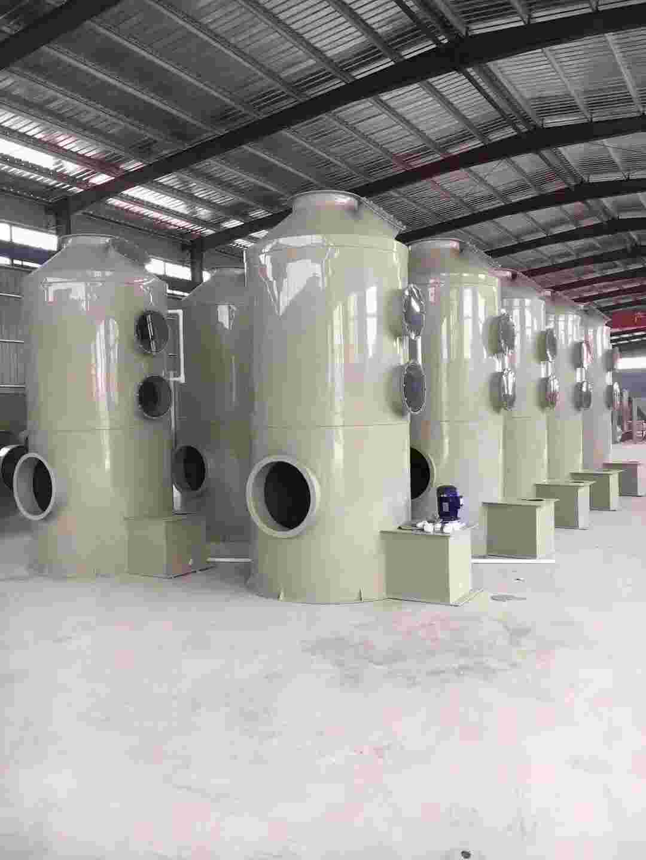 6万风量废气PP喷淋塔详细配置参数单及厂家报价
