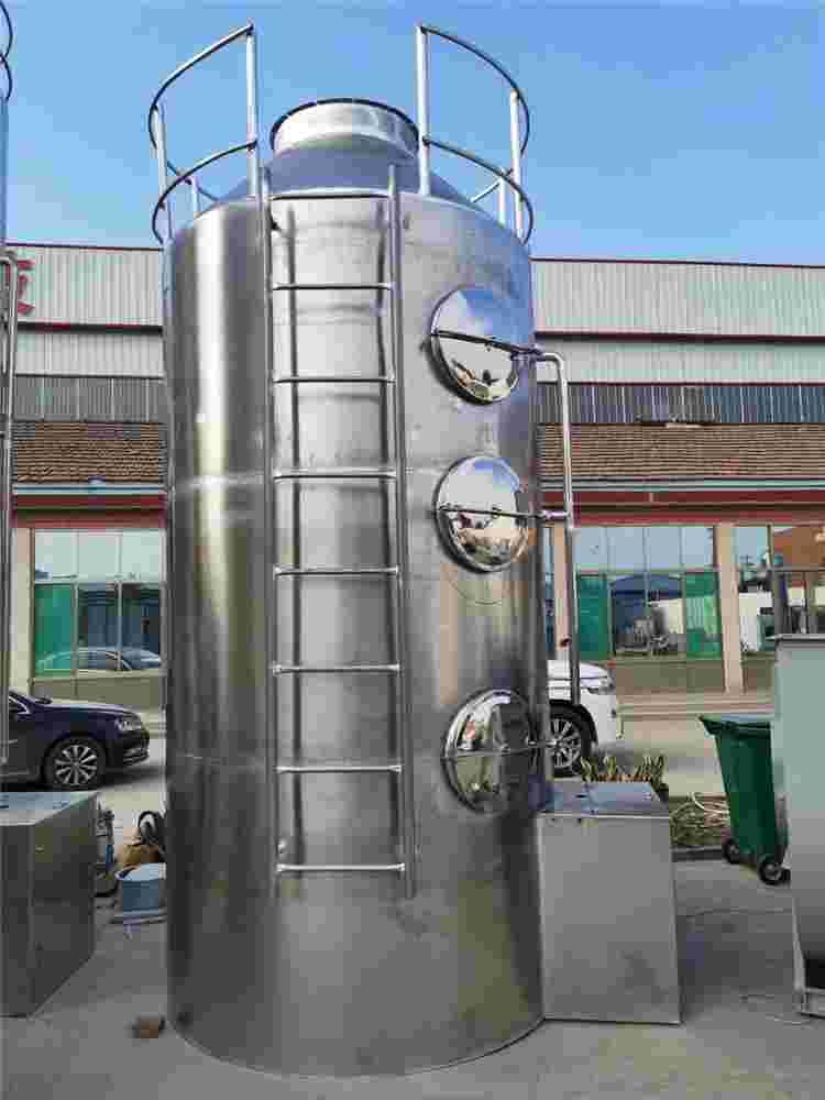PP喷淋塔碳钢喷淋塔不锈钢喷淋塔