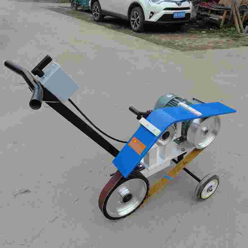 厂家供应宁力小推车式钢板焊缝平磨机抛光机